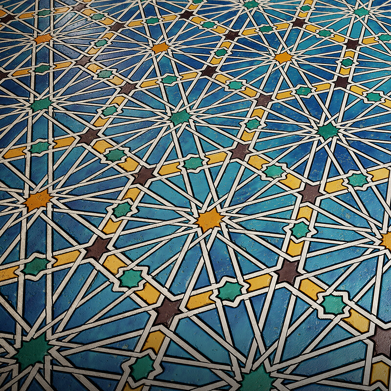 Substance Challenge - Moorish Mosaics