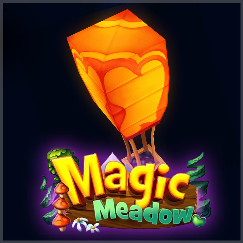 Magic Meadow - Fire Lantern