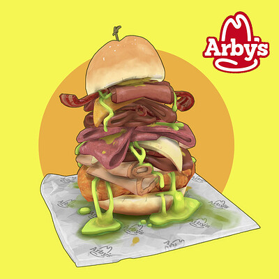 Arby's Meat Mountain (Fan Art)