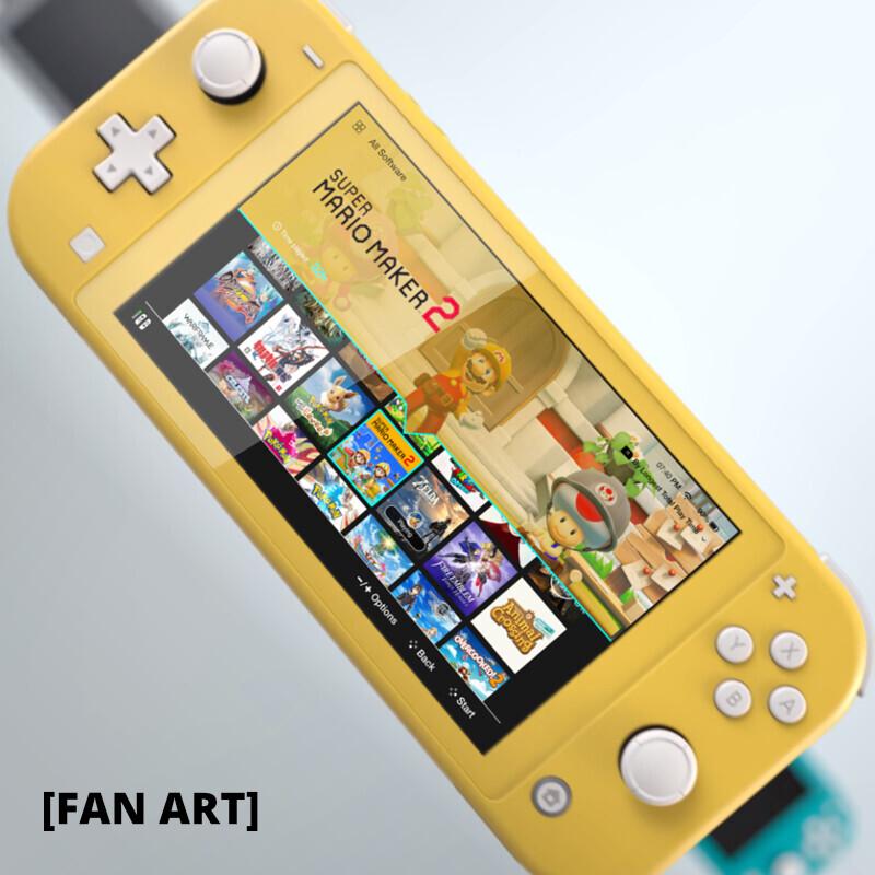 [FAN ART] Nintendo Switch UI Concept