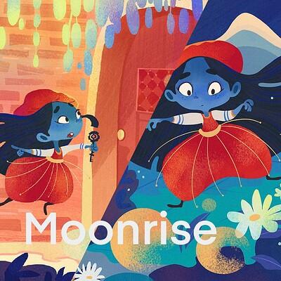 Moonrise | Children Illustration