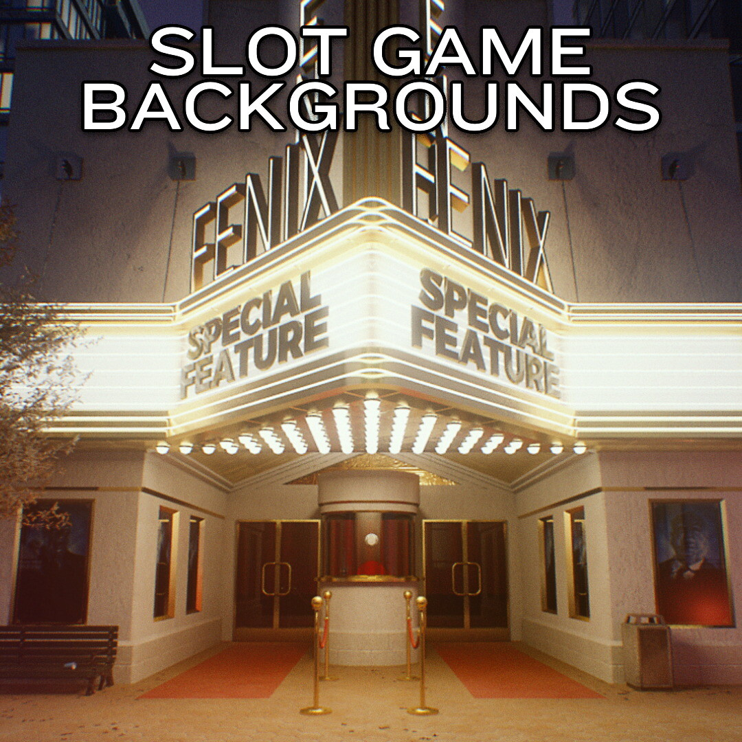 Slot Game Backgrounds Reel
