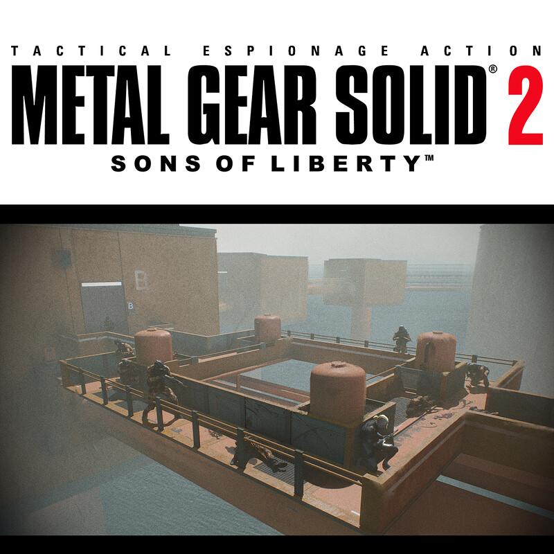 Metal Gear Solid 2 Fanart