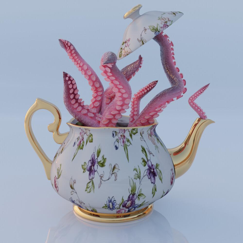 Suspicious Teapot