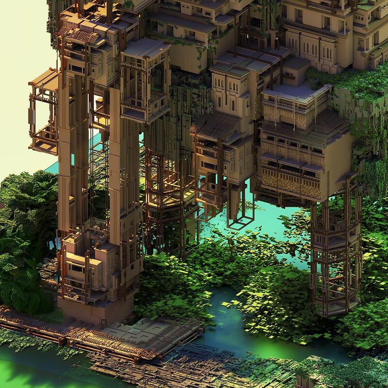 A Semi Floating Island