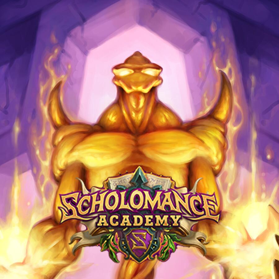 Hearthstone: Scholomance Academy - Divine Rager