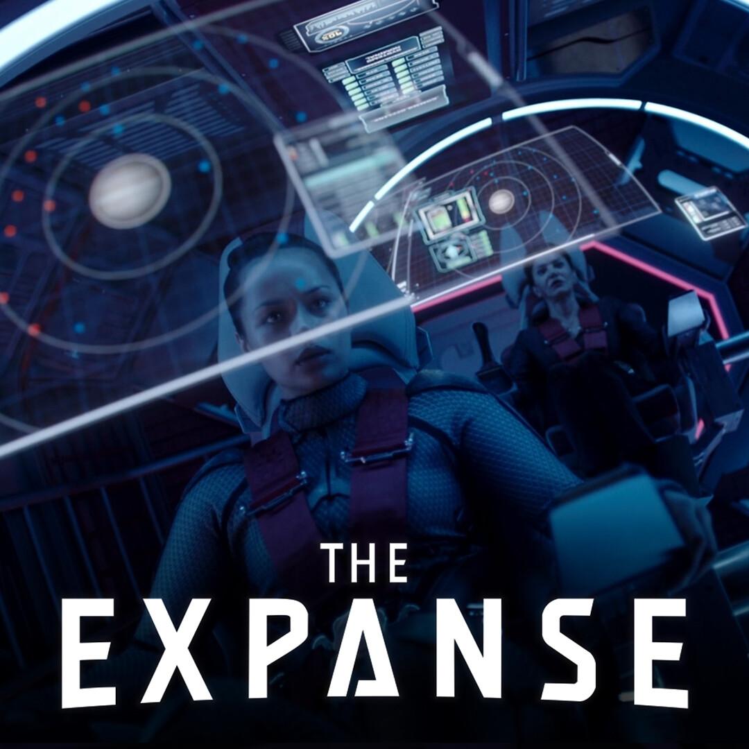 The Expanse: Razorback UI