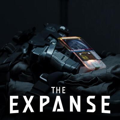 The Expanse: Comm UI