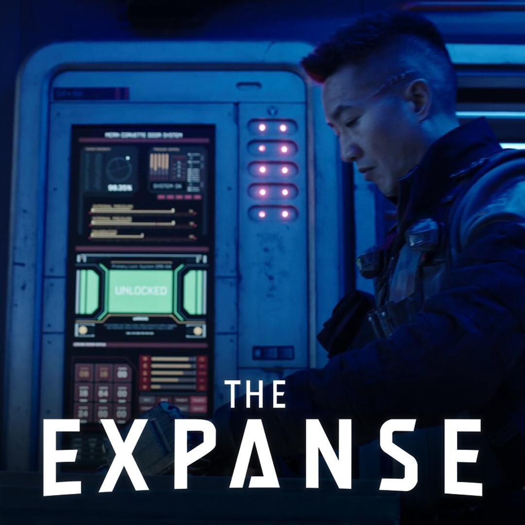 The Expanse: Rocinante UI