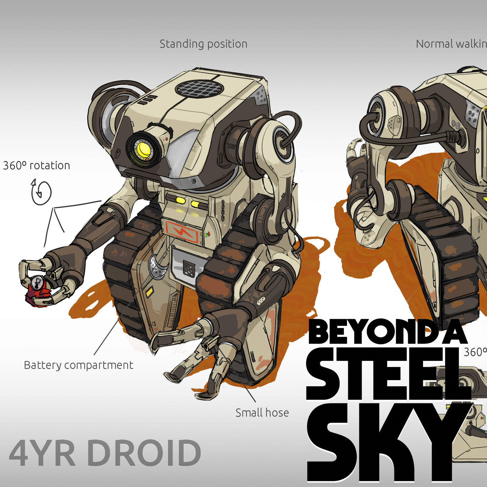 BEYOND A STEEL SKY: 4YR