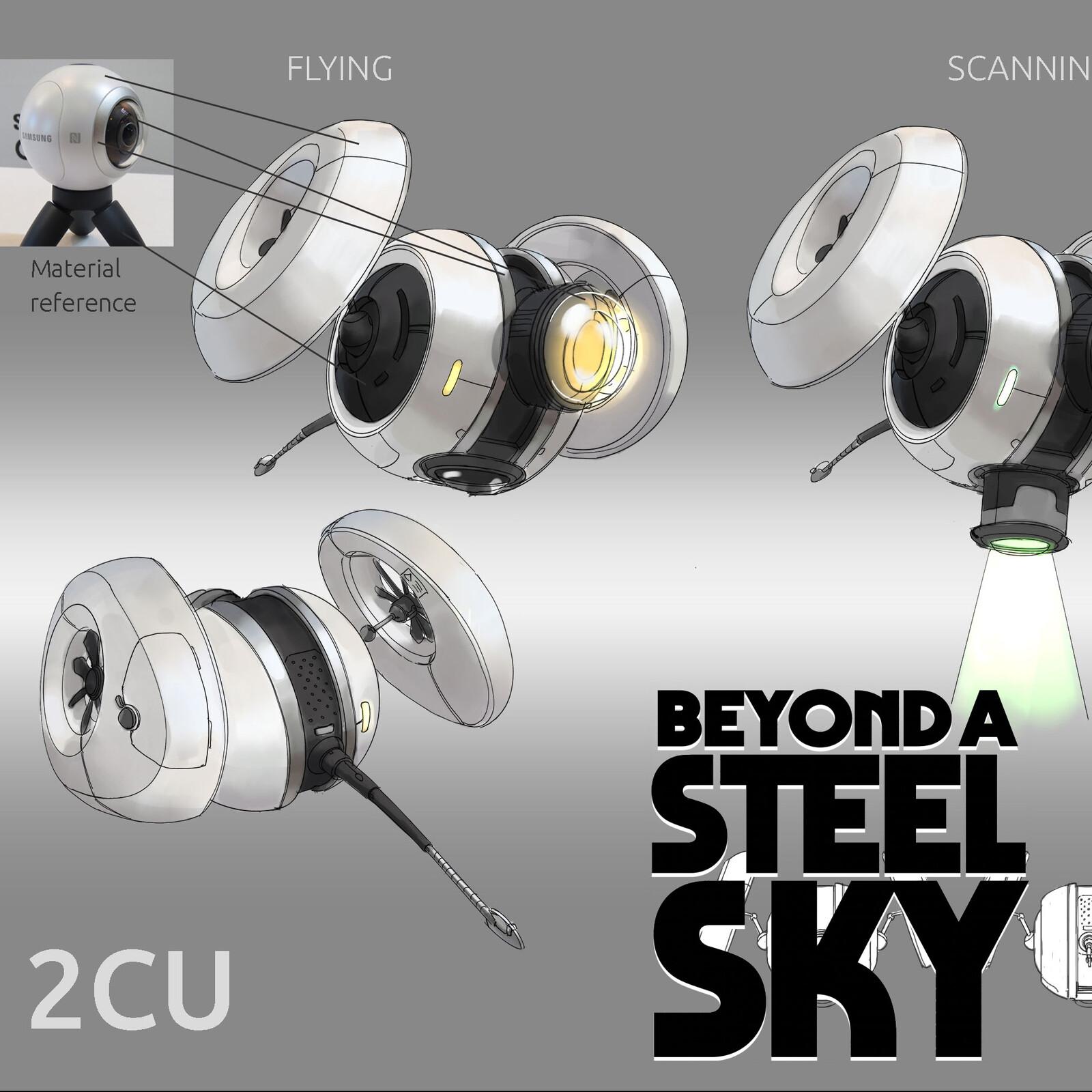 BEYOND A STEEL SKY: 2CU