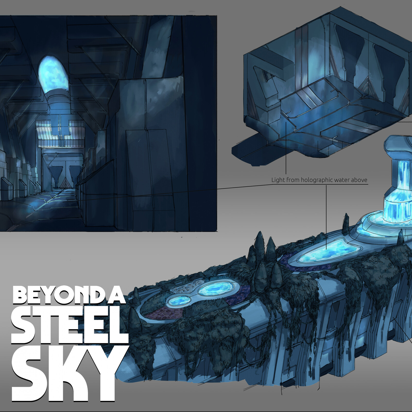 BEYOND A STEEL SKY: Creeper Bay