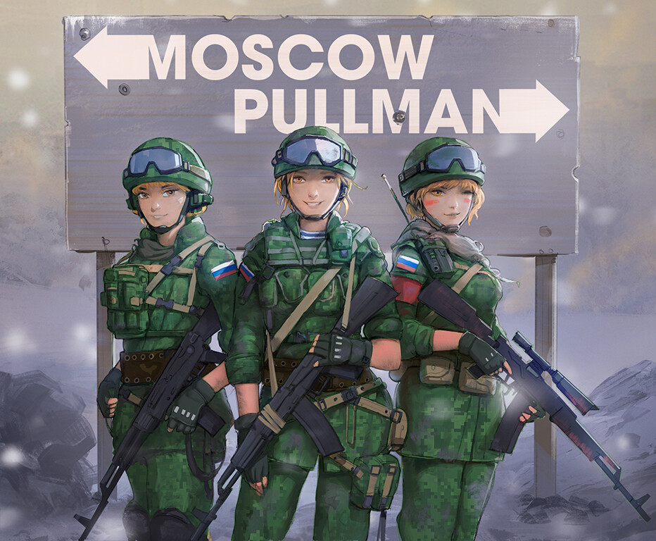 Cover Illustration - Moscow Pullman