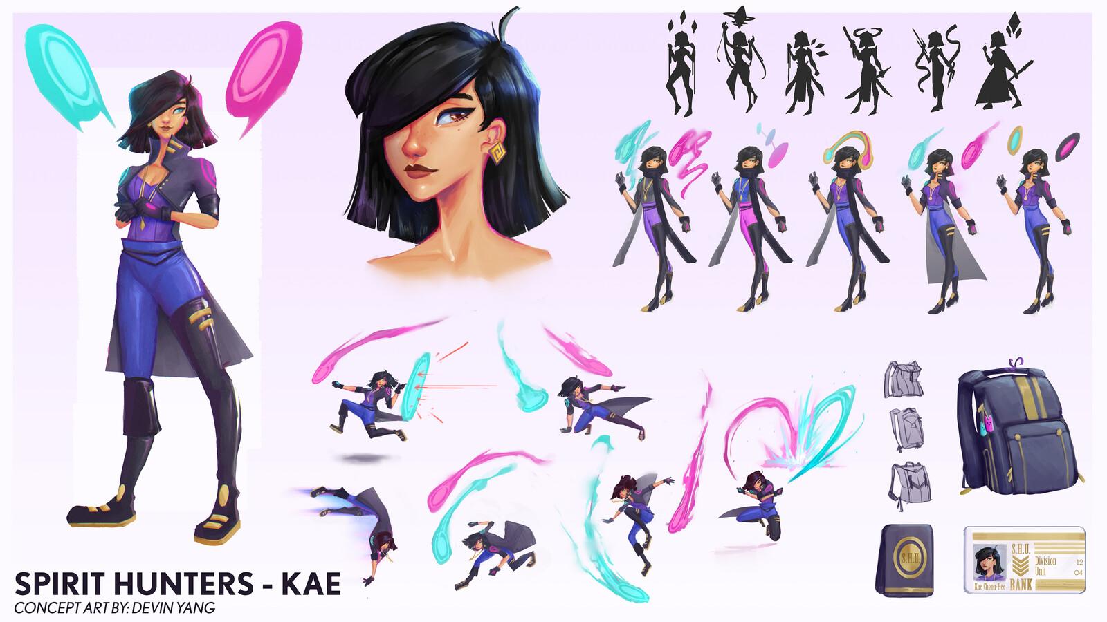 Kae Character Design