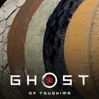 Ghost of Tsushima || Materials