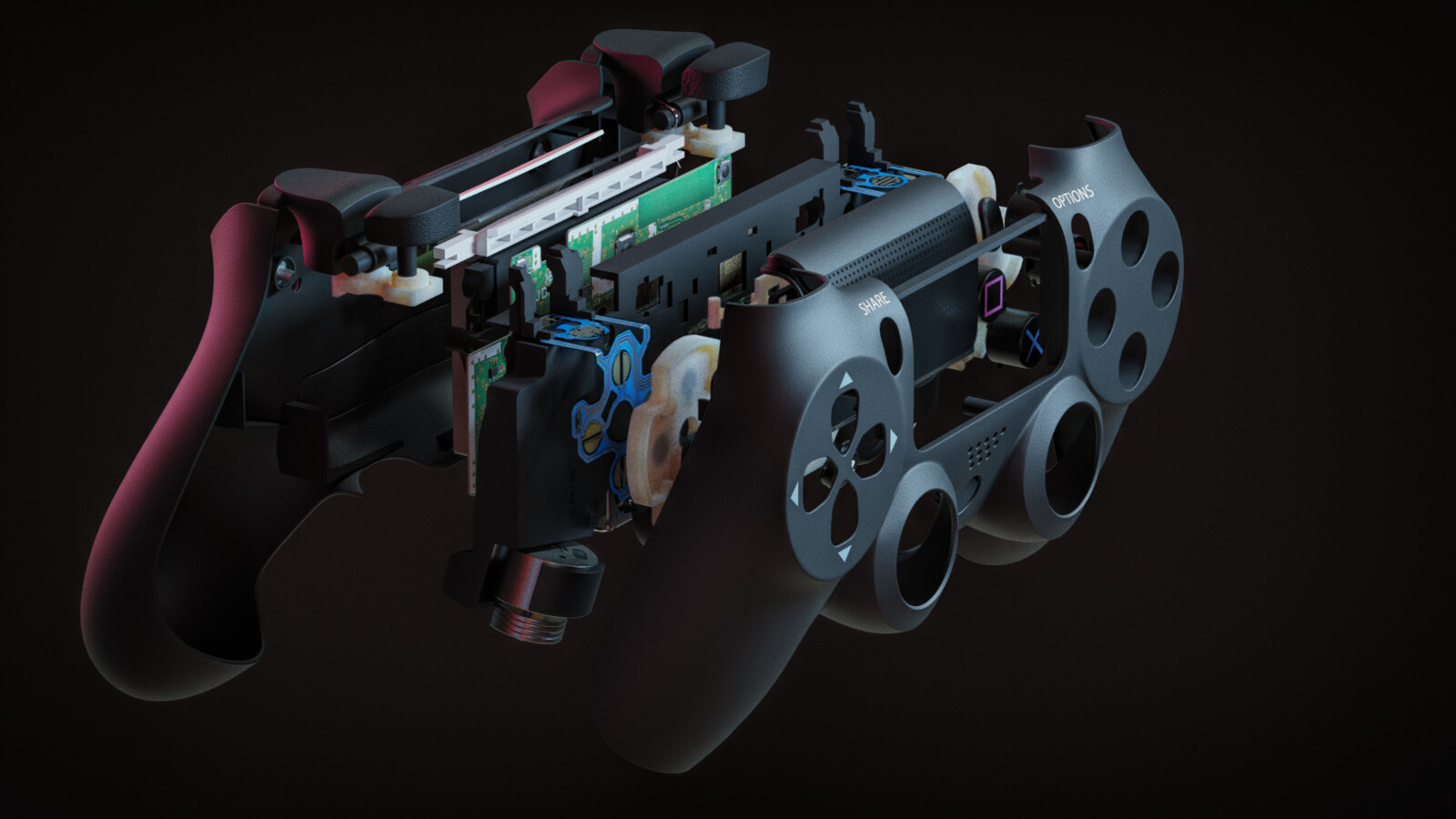 PS4 Controller Assembly