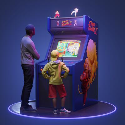 Travis davids travis davids arcademachine1289