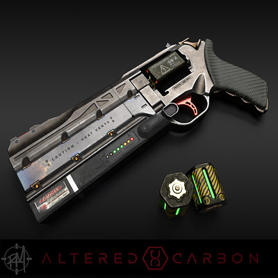 Altered Carbon - Kovacs' Pulse Revolver