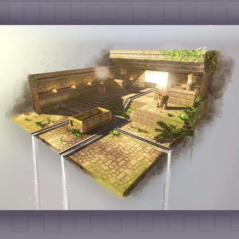 Temple Imperium - Production Art