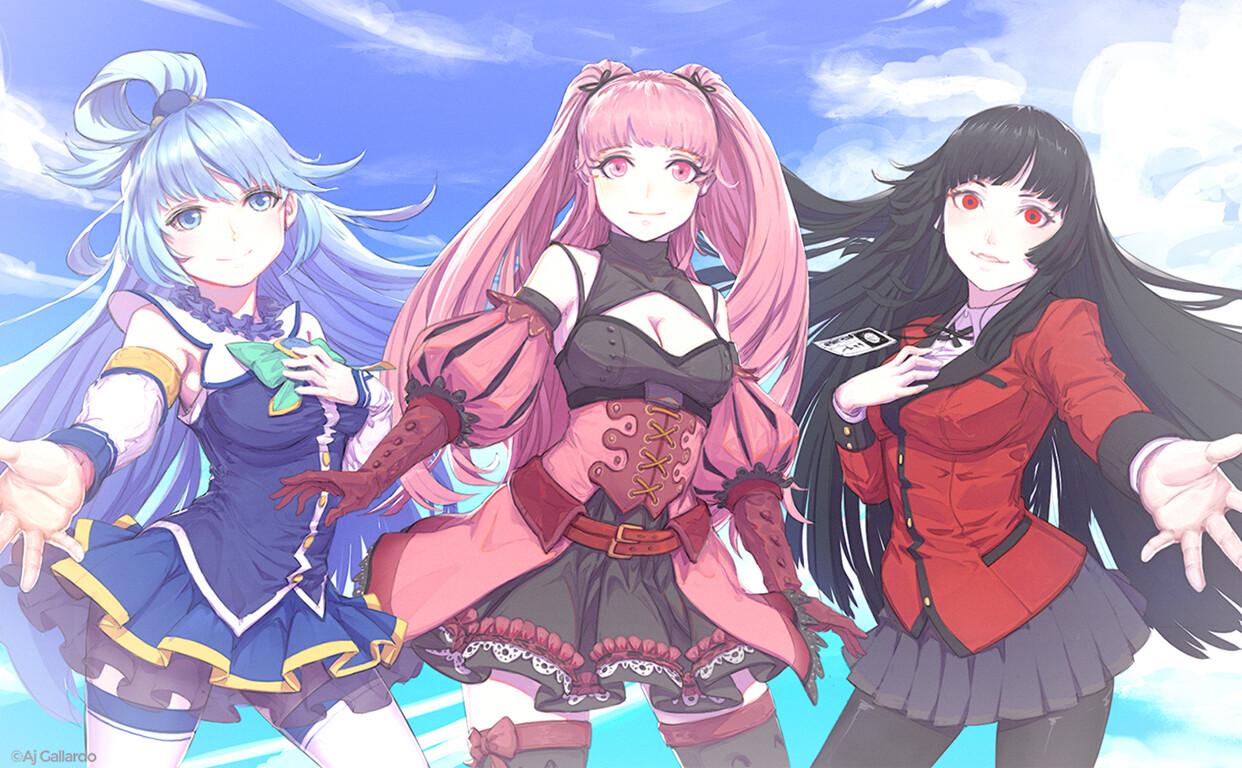 Anime ill