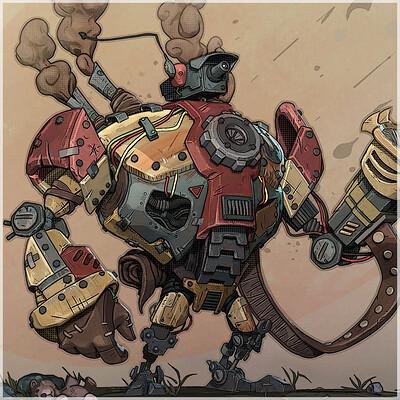 Brx myers brx myers cartoon robot thumbnail 01