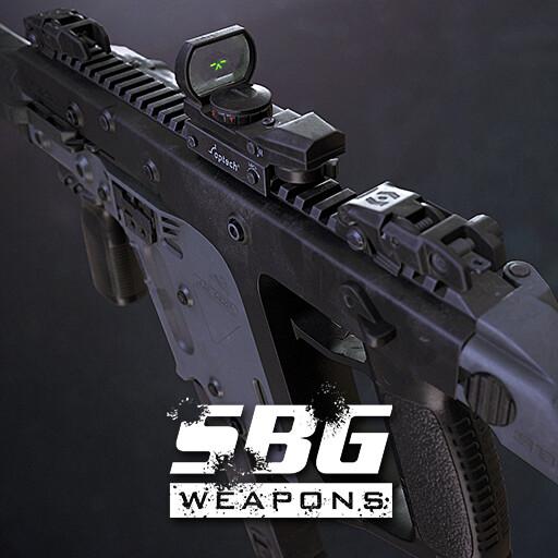 Submachine Gun Cal. 45 ACP