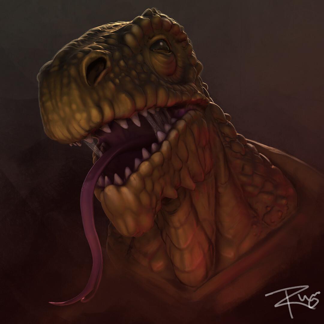 Reptile Creature Concept