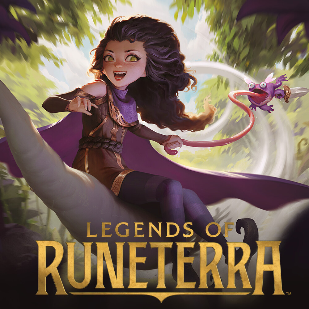 young witch - Legends of Runeterra