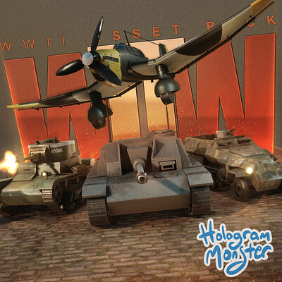 Hologram monster studio iconimage ww2