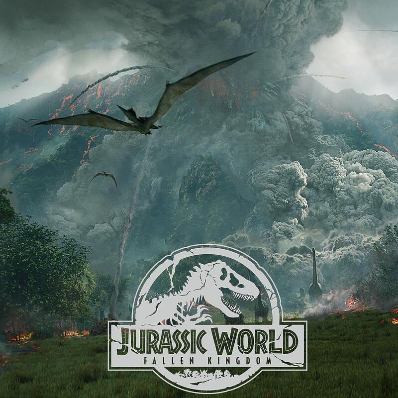 Jurassic World: Fallen Kingdom - Volcano explosion