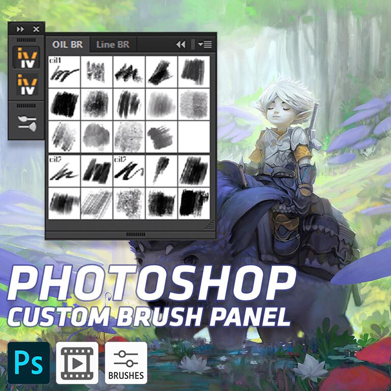 Photoshop Brush Panel - Free Download