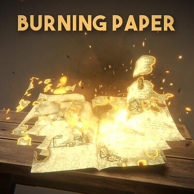 Gabriel aguiar gabriel aguiar vfxgraph burningpaper squarethumbnail v1 1