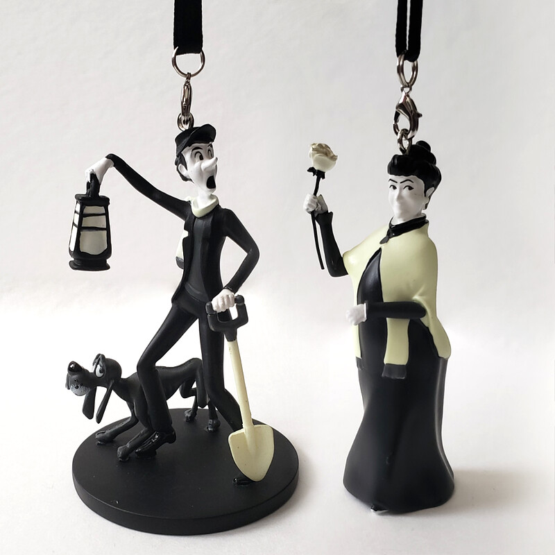 Haunted Mansion Ornament Set