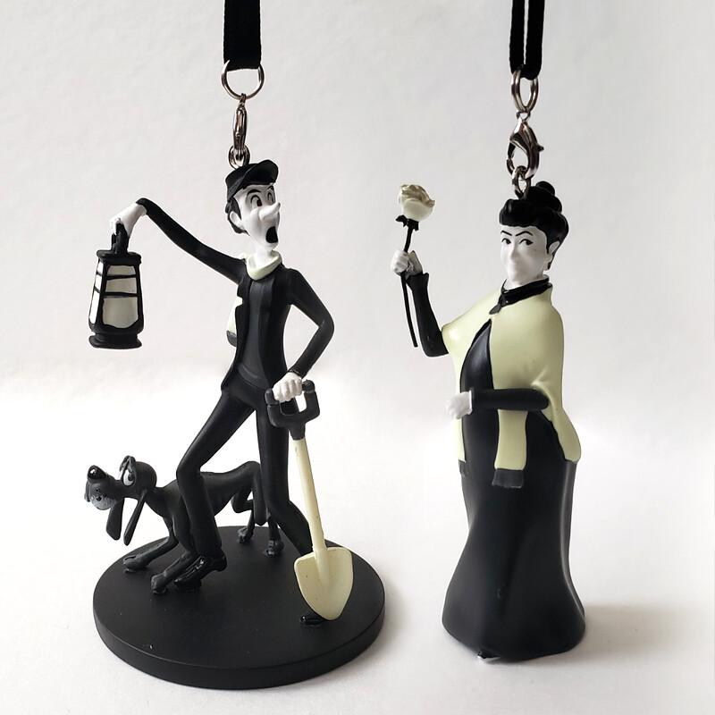 Haunted Mansion Ornament Set