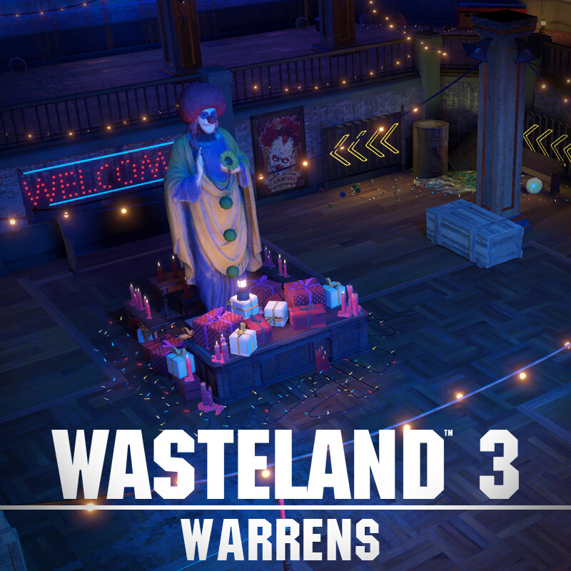 Wasteland 3 Environment Art - Warrens