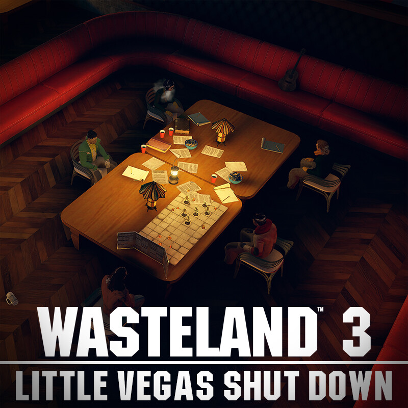Wasteland 3 Environment Art - Little Vegas Shut Down