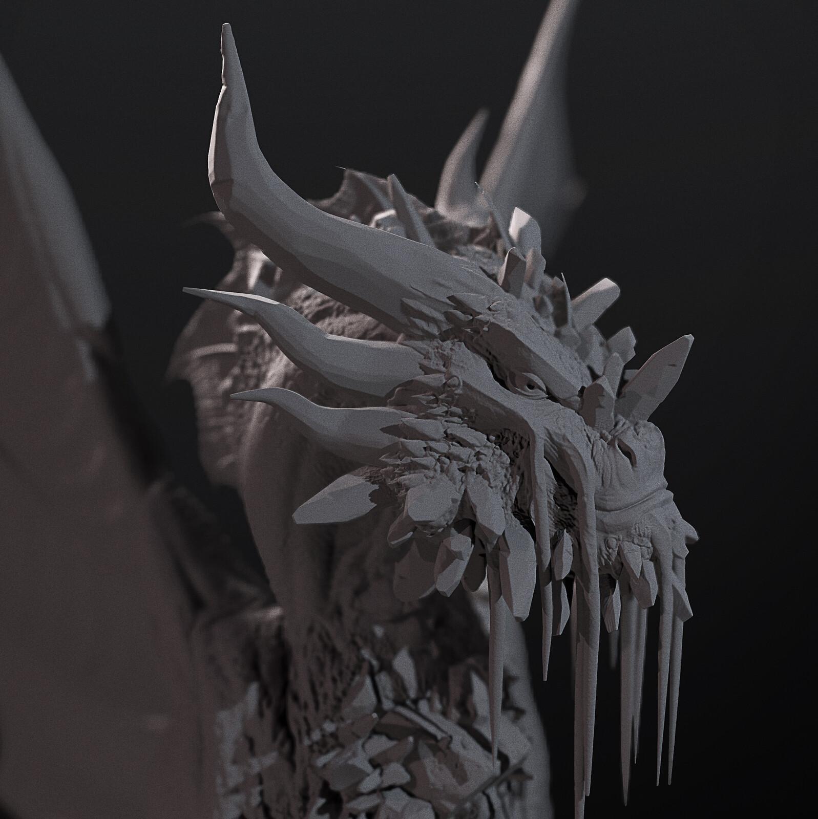 Glimmerheart - 3d miniature (colossal)