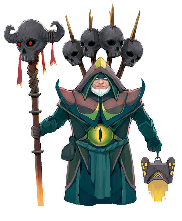 CHARACTER DESIGN | GC - Warlock