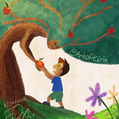 Kirin art kirin art the giving tree