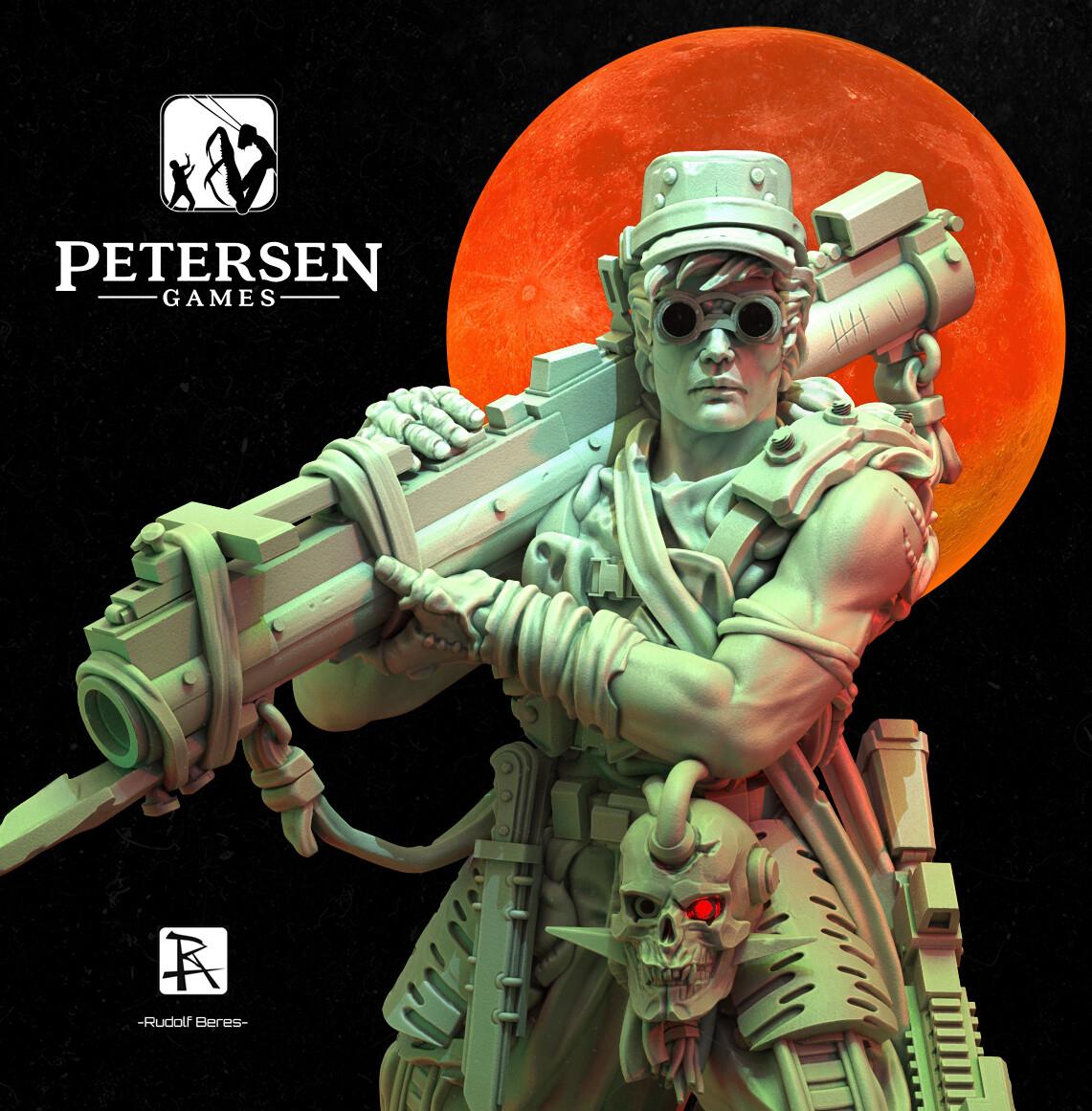 Sandy Petersen Planet Apocalypse 2 Eva Noel Hero