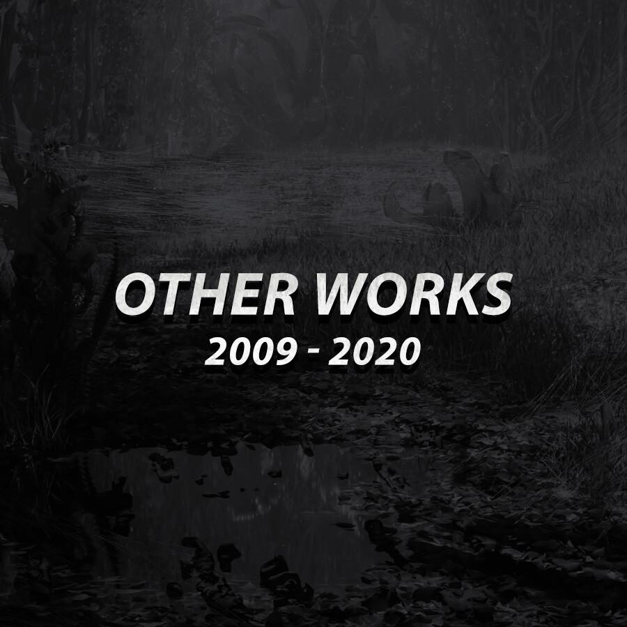 Other works 2009-2020 Album thumbnail