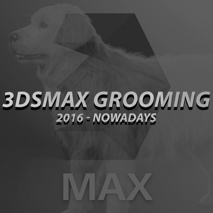 3ds Max Grooming Thumbnail