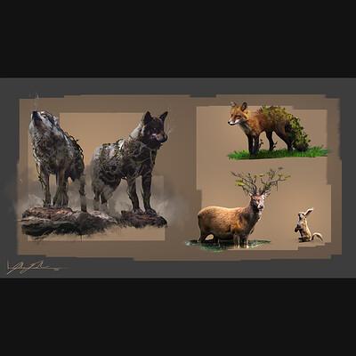 Josh durham josh durham animal design sketches thumb
