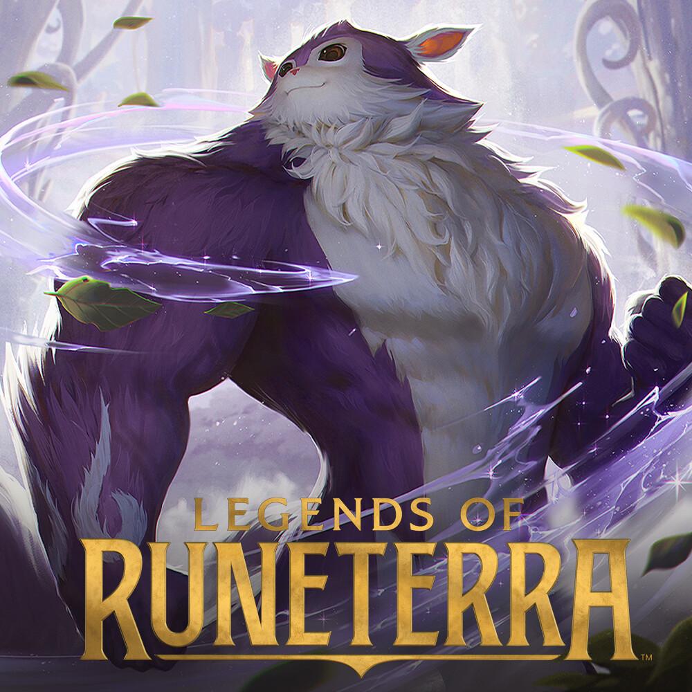 Swole squirrel - Legends of Runeterra