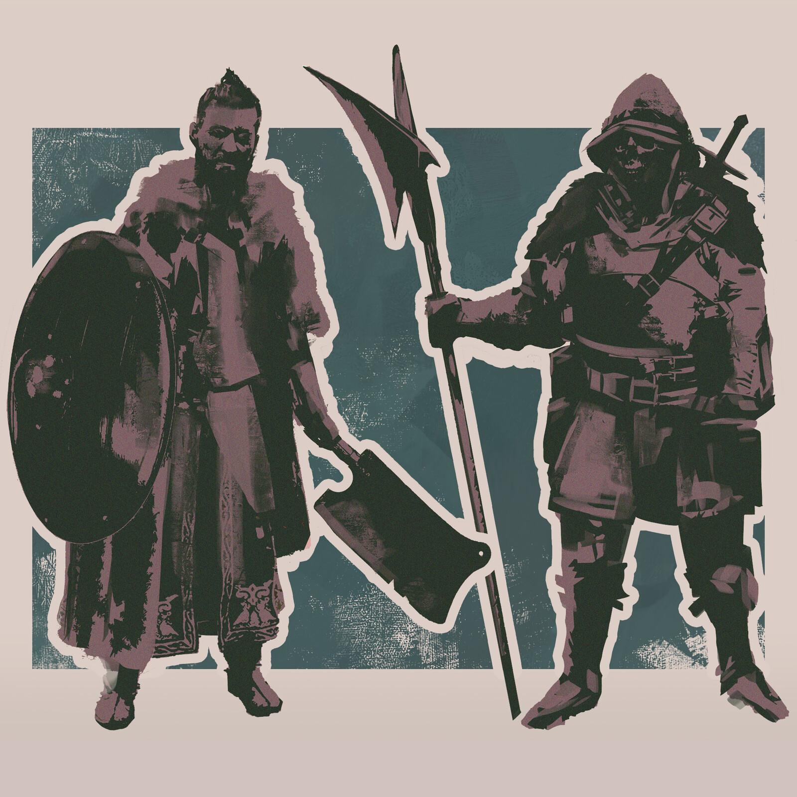 Mercenary Sketches