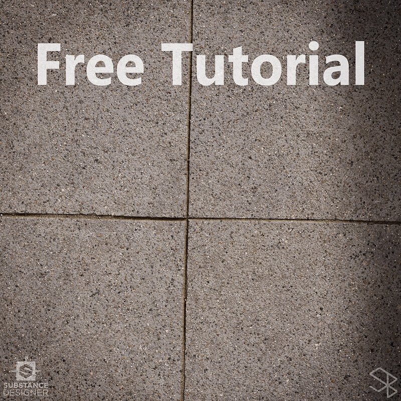 Free Concrete Substance Designer Tutorial