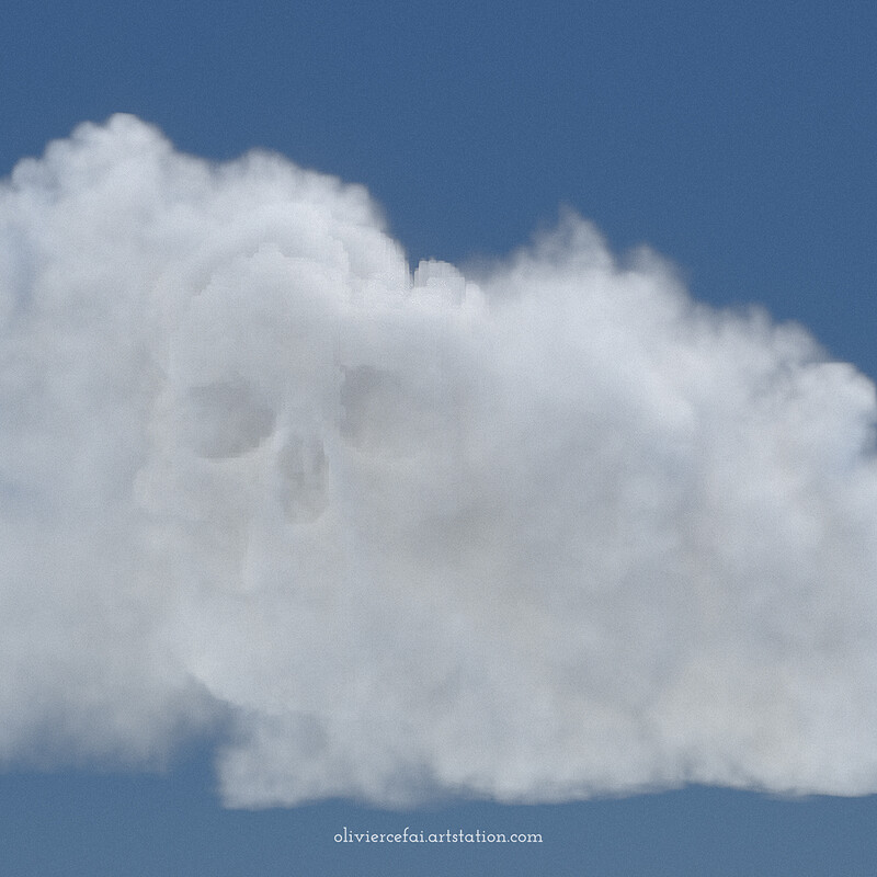 The Skullonimbus - Combining Simulation and VEX modeling
