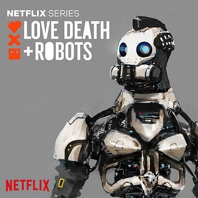 Love Death + Robots - Xbot 4K - character concept development
