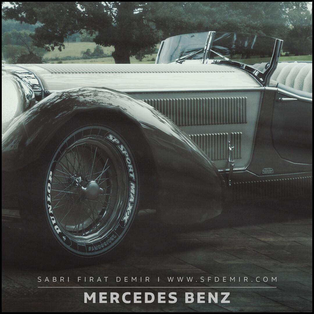 Antique Mercedes Benz Concept Scene