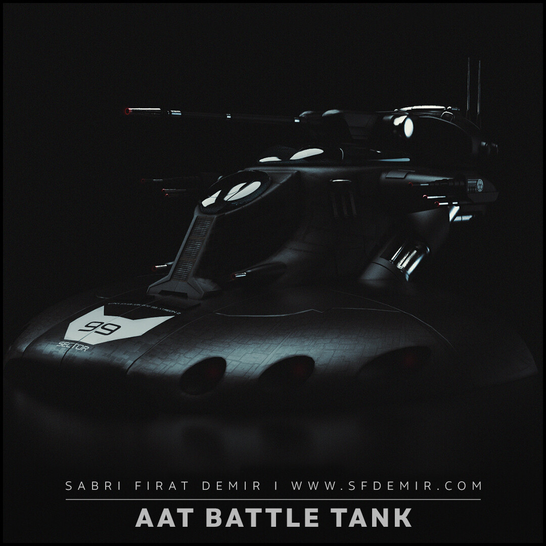 Star Wars AAT Battle Tank